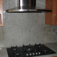 Baltic Brown Granite Kitchen Worktop and Splashback