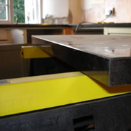 granite worktop fitting