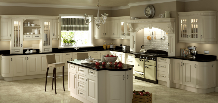Kitchen worktops in granite