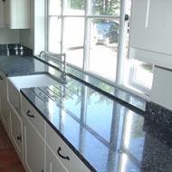 Blue Granite Kitchens