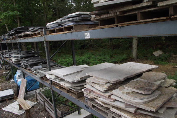 Pallet loads of offcuts