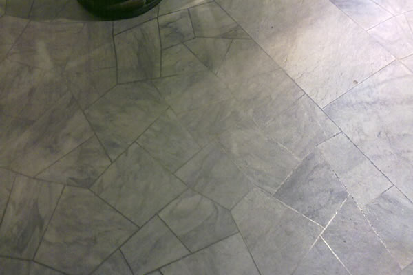 Pharmacy floor created with offcuts