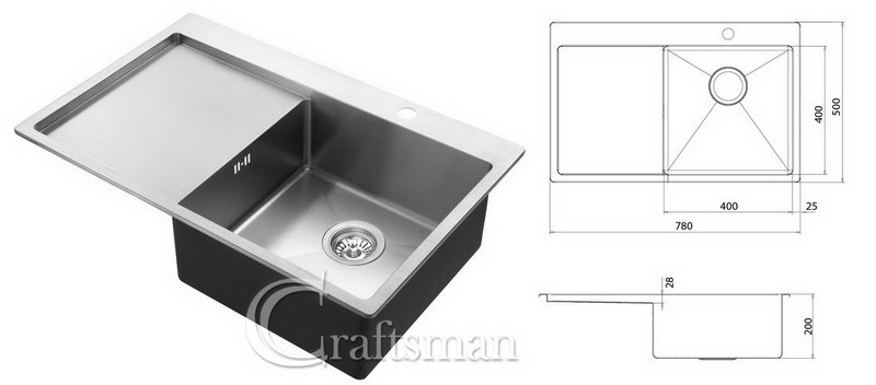 Stainless Steel Kitchen Sinks - Craftsman Ltd Reading, Berkshire