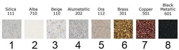 colour chart composite granite kitchen sinks and taps   craftsman ltd reading      rh   craftsmanltd co uk